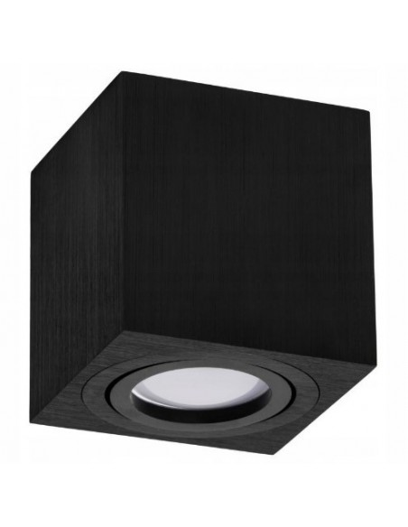 Virštinkinis LED šviestuvas - Milo juodas KJ