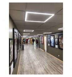 Šviečiantis LED panel rėmas armstrong luboms 60x60cm - 40W - 4500K