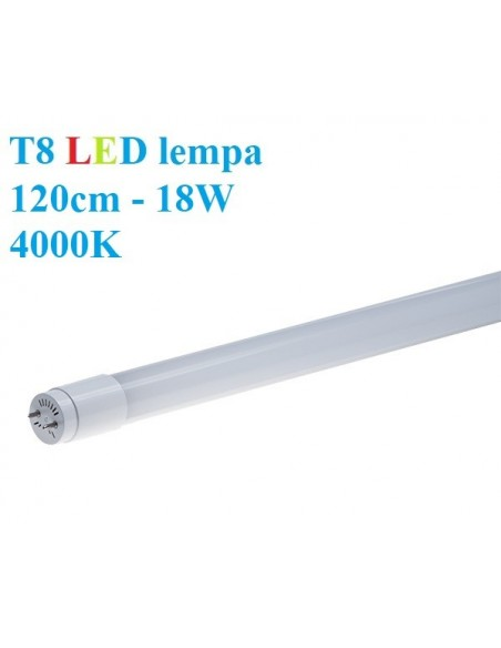 T8 LED lempa 120cm - 18W