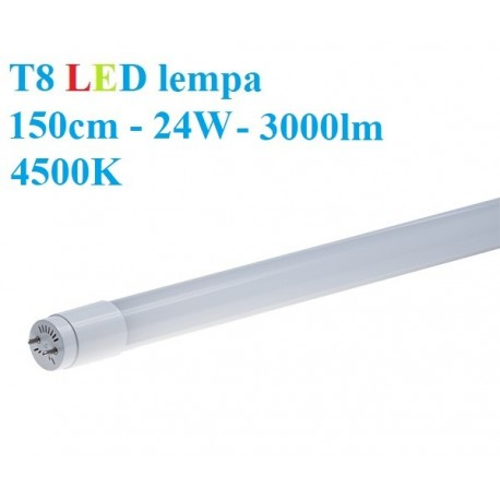 T8 LED lempa 150cm - 24W