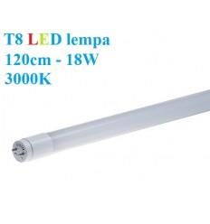 T8 LED lempa 120cm - 18W - 3000K