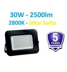LED prožektorius 30W - 2800K