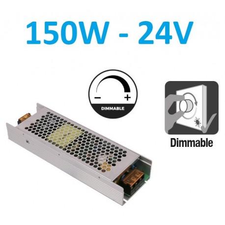 Reguliuojamas LED maitinimo šaltinis 150W - 24V