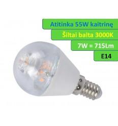 E14 - 7W - 715lm LED lemputė
