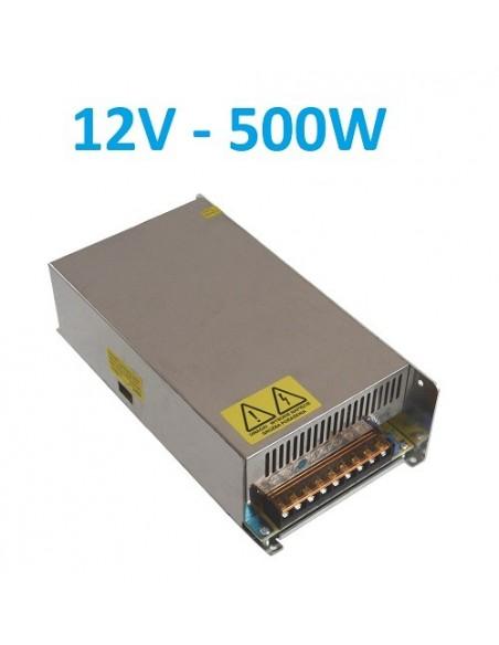 LED maitinimo šaltinis 12V - 500W