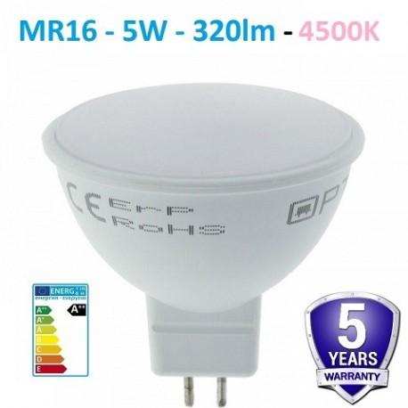LED lemputė GU5.3 - 12V - 5W