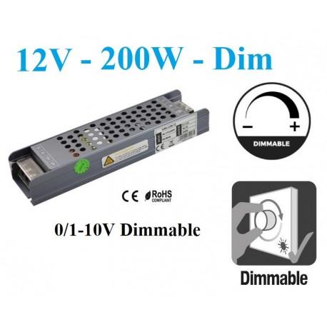 Reguliuojamas LED maitinimo šaltinis 200W - 12V/24V