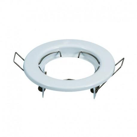 Rėmelis LED lemputei į lubas - Balta blizgus