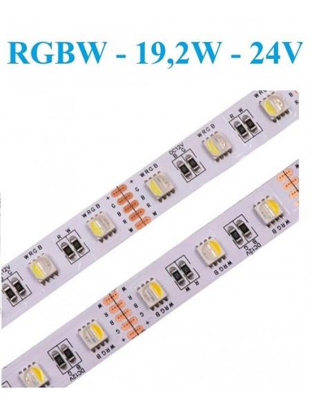 RGB+W - 24V - 19,2W - IP20