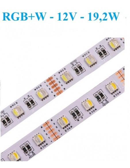 RGB+W - 12V - 19,2W - IP20