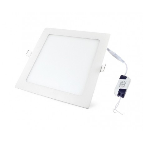 Įleidžiama LED panelė - 12W kvadratas