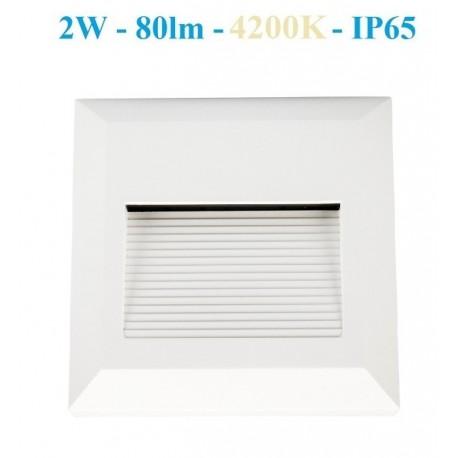 Sieninis LED šviestuvas - CROTO- K baltas