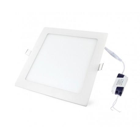 Įleidžiama LED panelė - 6W kvadratas