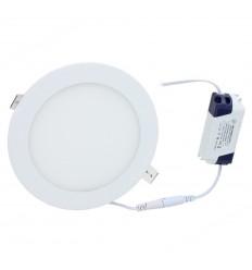 Įleidžiama LED panelė - 12W apvali
