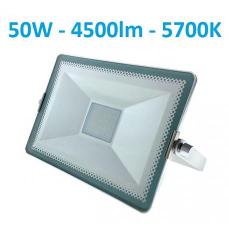 Baltas LED prožektorius 50W - 5700K