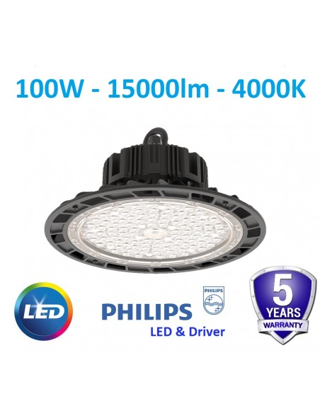 100W LED High bay - 15000lm - 4000K - PHILIPS