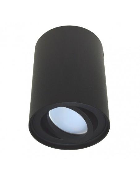 Virštinkinis LED šviestuvas - Milo GU10 juodas R XL