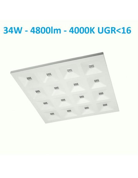 LED panelė Tiger 60x60cm - 34W - 4800lm - 4000K
