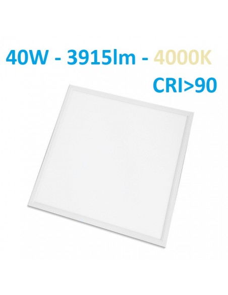 LED panel armstrong luboms 60x60cm - 40W - 4000K - CRI90