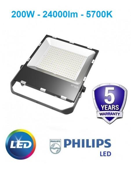 LED prožektorius 200W - 24000lm 5700K GARANTIJA - 5 metai