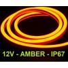 LED juosta NEON FLEX 12V - 6000K - IP67 - 5 metrai