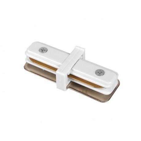 Sujungimo jungtis 1 fazės Premium bėgeliui - balta