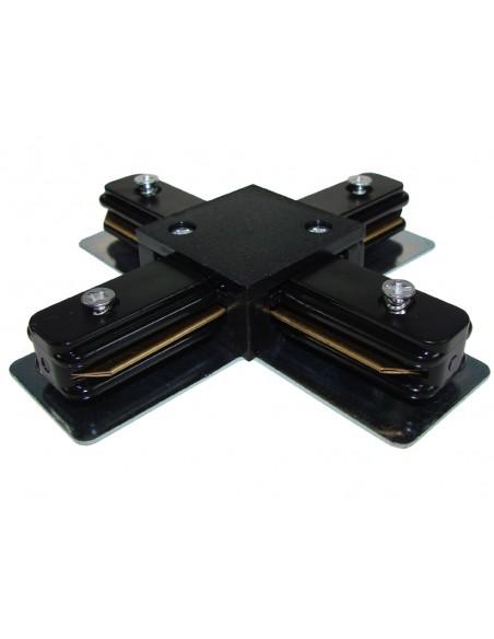 Kryžminė jungtis 1 fazės Premium bėgeliui - juoda