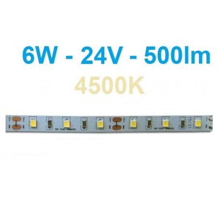 LED juosta Profi - 6W - 24V neutrali balta