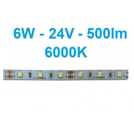 LED juosta Profi - 6W - 12V šaltai balta
