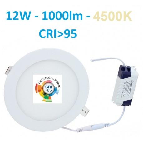 Įleidžiama LED panelė - 12W - 2700K CRI95