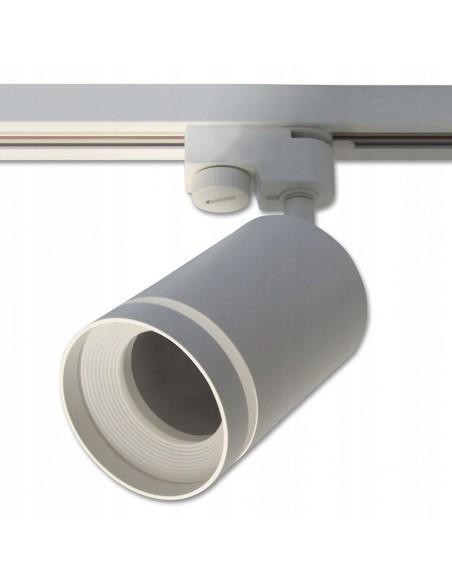 Akcentinis Track šviestuvas 1 fazės - Ring GU10 baltas