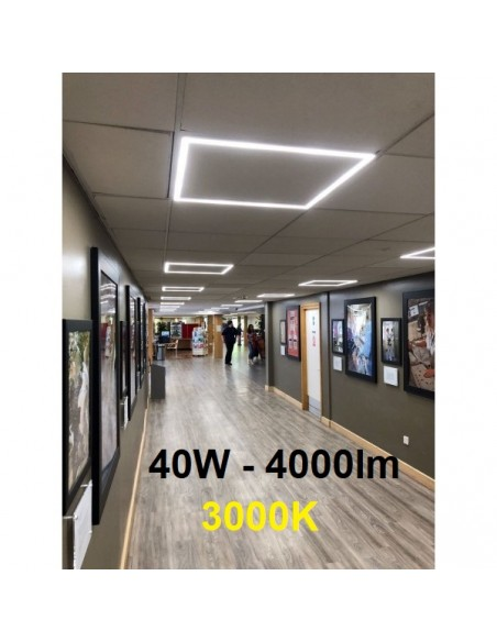 LED panel armstrong luboms 60x60cm - 40W - 3000K