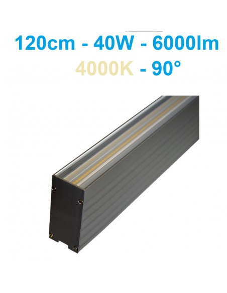 Linijinis LED šviestuvas - Linear Premium 120cm 40W - 6000lm