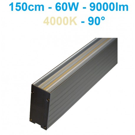 Linijinis LED šviestuvas - Linear Premium 150cm 60W - 9000lm