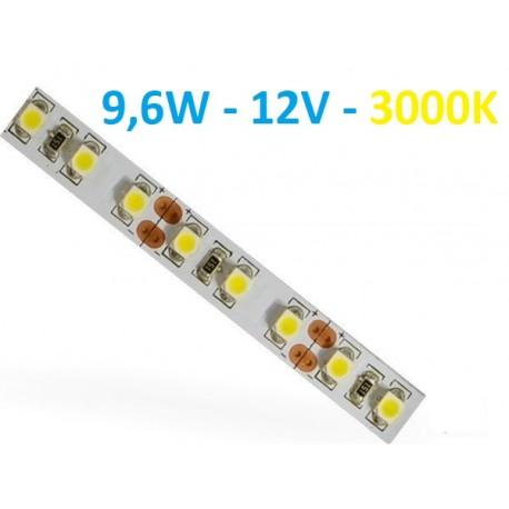 LED juosta 2835 - 9,6W/m - IP20