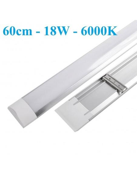 LED šviestuvas - Panel Slim 18W - 6000K