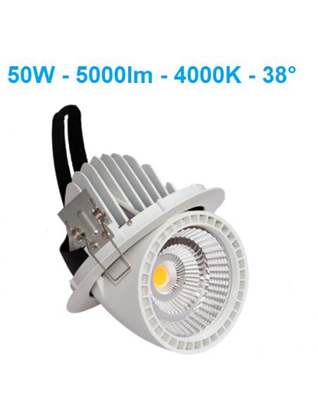 LED šviestuvas montuojamas į lubas - Gimbal 50W