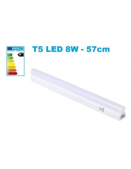 T5 LED šviestuvas 8W su jungtuku