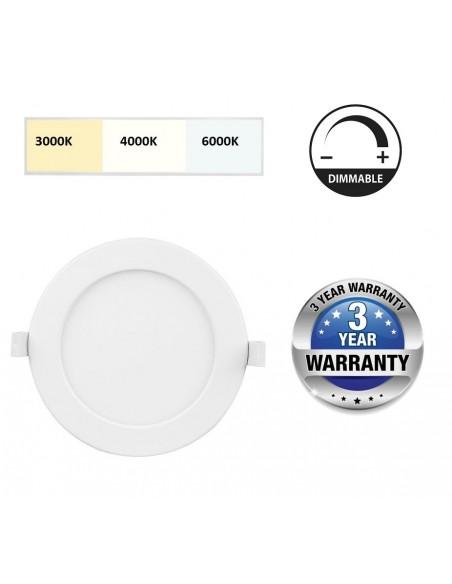 Įleidžiama reguliuojama LED panelė - 24W