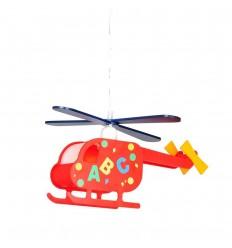 Vaikų kambario LED šviestuvas - Globo Helikopter