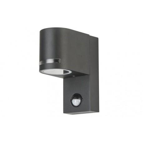 Sieninis LED lauko šviestuvas su judesio davikliu - Lumi UNO