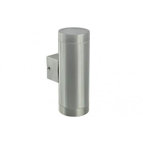 Sieninis LED lauko šviestuvas - Lumi Silver