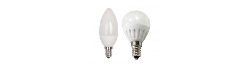 E14 - LED lemputės