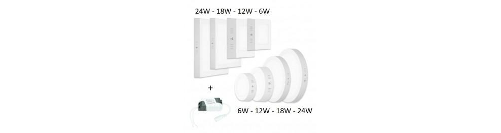 Virštinkinės - LED panelės